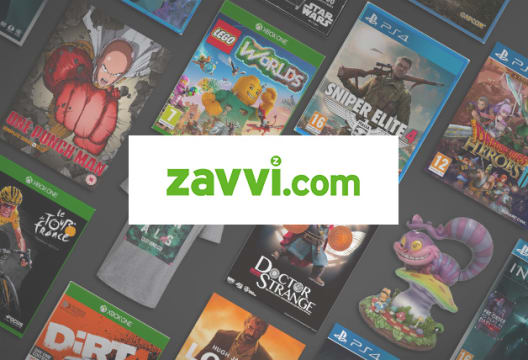 First Orders Over £60 Receive 15% Off at Zavvi